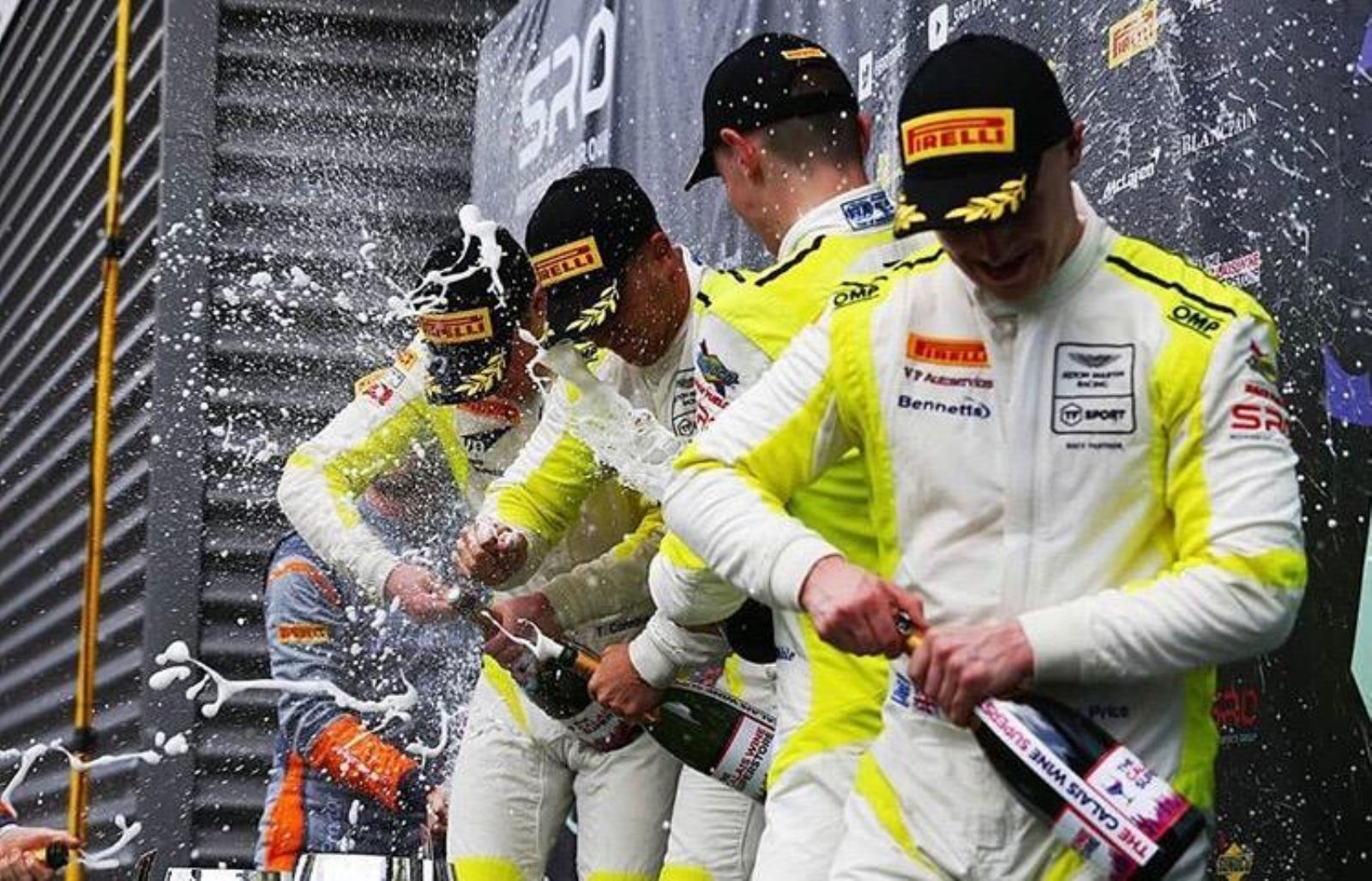 Win at British GT Spa Francorchamps
